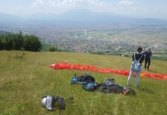 Paragliding Commercialized in Prizren Making the City's Tourism Offer More Attractive