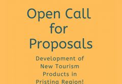 Open Call for Proposals  Development of New Tourism Products in Pristina region